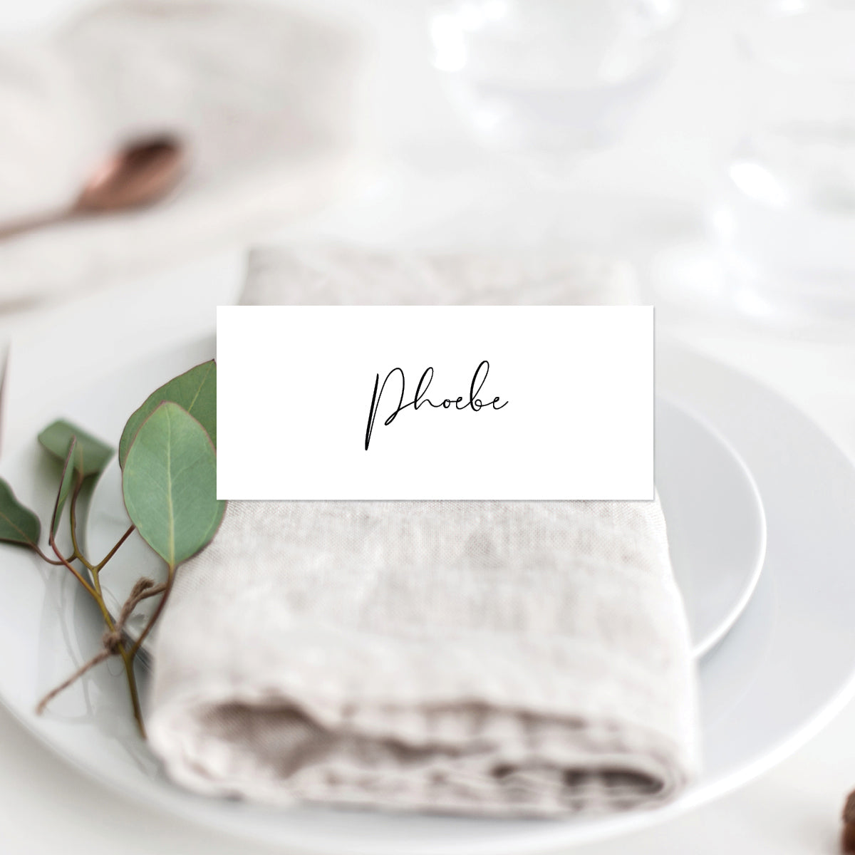 Forever in Love Placecard