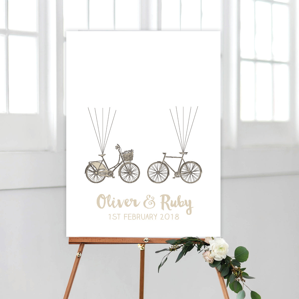 His and Her Bicycle Fingerprint Kit