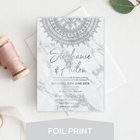 So Sweet Foil Invitation