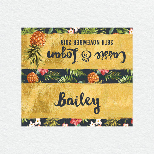 Pineapple Punch Placecard