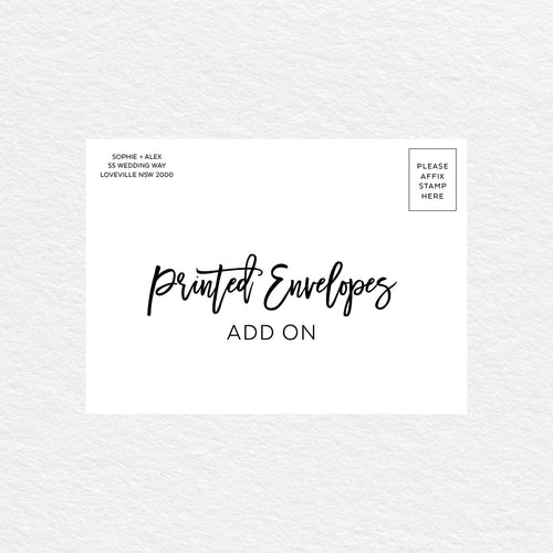 Printed Envelopes (flat rate)