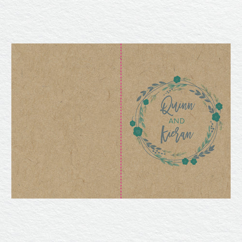 Rustic Wreath Service Covers