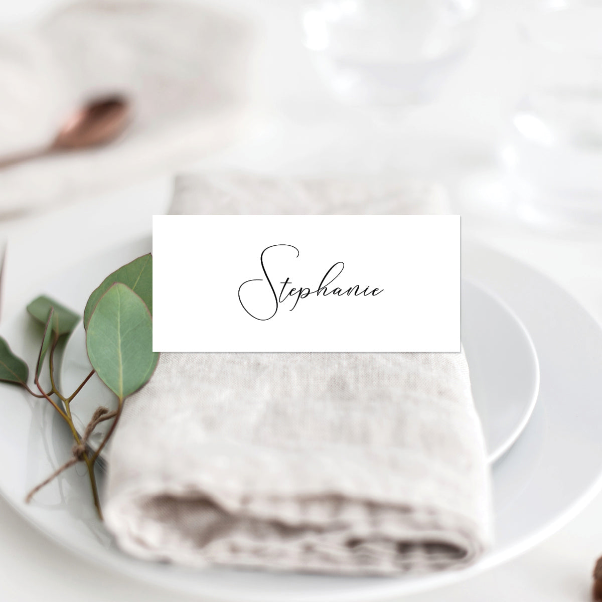 Serendipity Placecard
