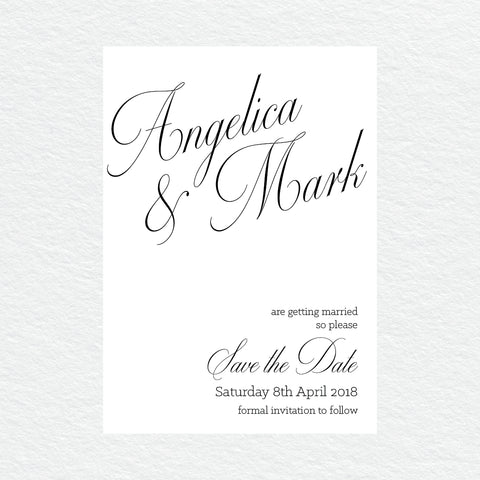Australiana Save the Date Card