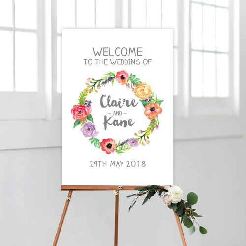 Spring Sweetness Welcome Sign