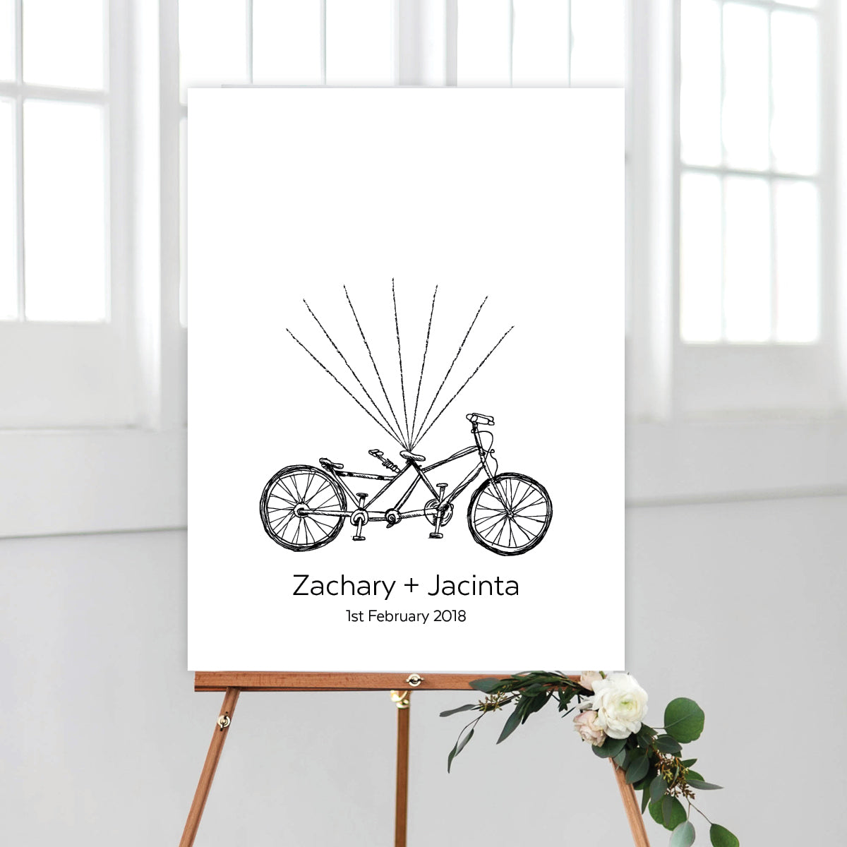 Tandem Bicycle Fingerprint Kit