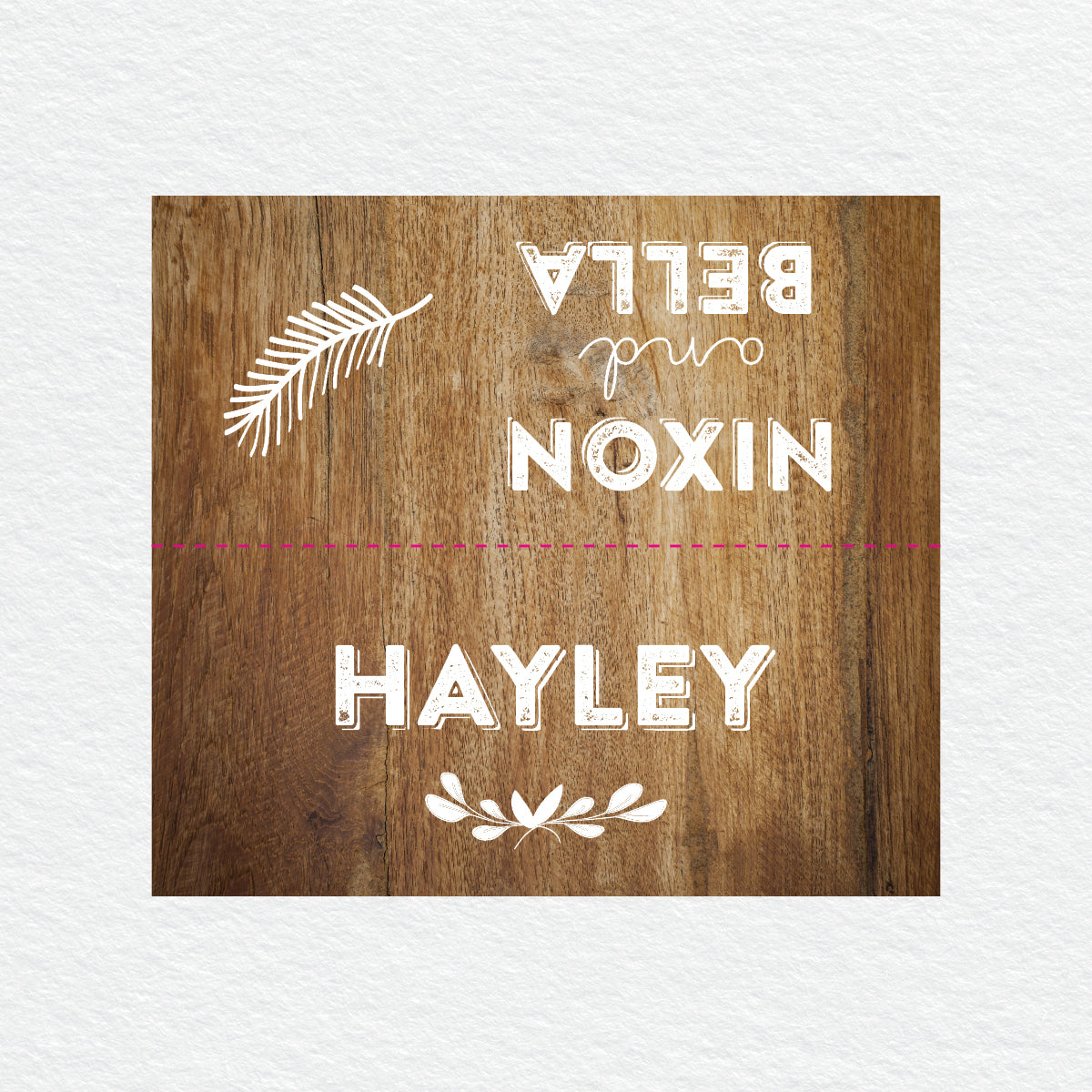 Woodland Whimsy Placecard