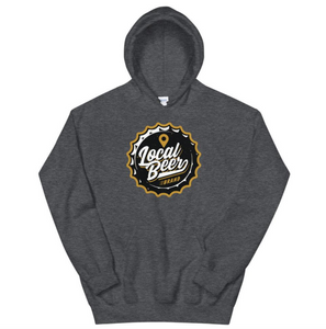 LOCAL BEER BRAND BOTTLE CAP UNISEX HOODIE