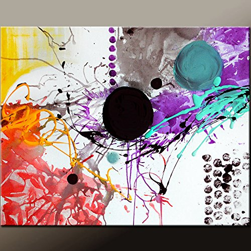 Abstract Canvas Painting by Destiny Womack