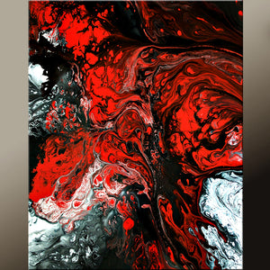 Abstract Art Prints 11x14 Contemporary Modern Giclee by Destiny Womack - dWo - Art of Seduction