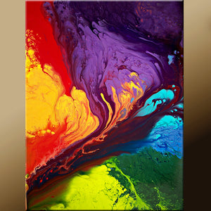 Contemporary Canvas Wall Art Print by Destiny Womack