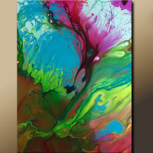 11x14 Abstract Fine Art Print by Destiny Womack - dWo - Raw Emotion
