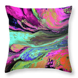 A Cosmic Journey - Throw Pillow