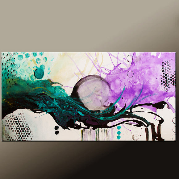Contemporary Canvas Art Painting by Destiny Womack