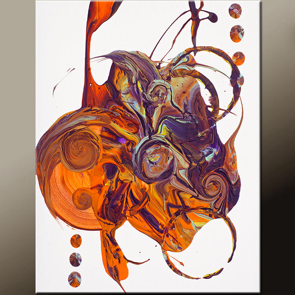 11x14 Abstract Fine Art Print by Destiny Womack - dWo - Chaos in Motion
