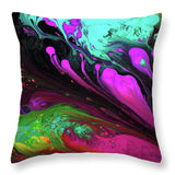 Euphoric Playground - Throw Pillow