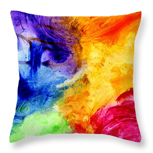 Expressions 1 - Throw Pillow
