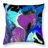 Faint Whispers - Throw Pillow
