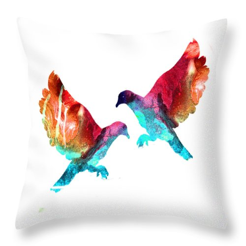 Heart And Soul - Throw Pillow