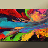 Abstract Art Print Contemporary Giclee by Destiny Womack - Bliss - Cosmic Dreams