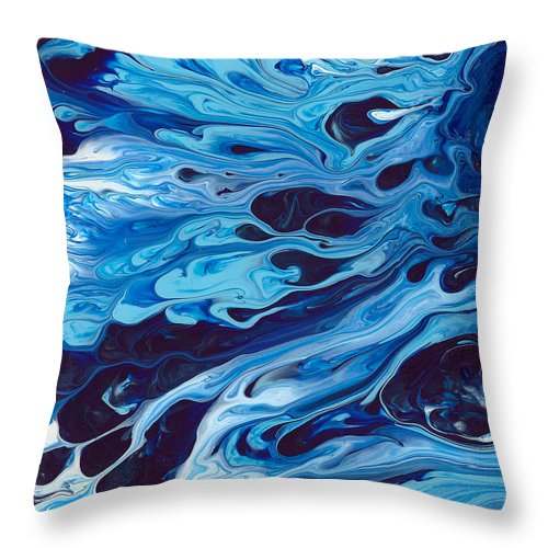 In A Sea Of Tears - Throw Pillow