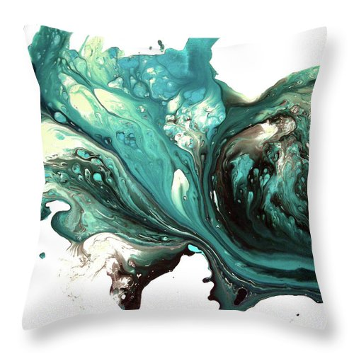 Lonely Teardrops - Throw Pillow