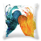 Night And Day - Throw Pillow