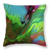 Raw Emotion - Throw Pillow