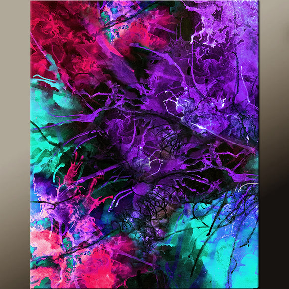 Contemporary Canvas Art Print by Destiny Womack