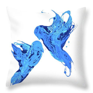 Soul Mates - Throw Pillow