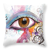 Through Her Eyes - Throw Pillow