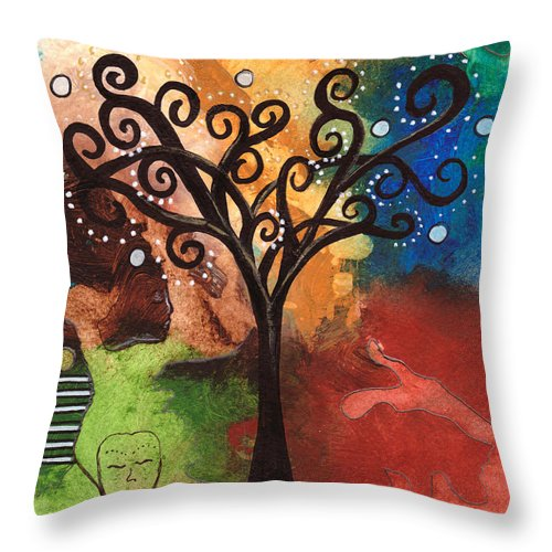 Tree Of Dreams - Throw Pillow