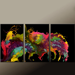 Contemporary Canvas Art Painting Set by Destiny Womack