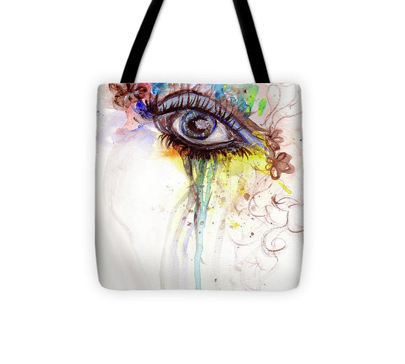 Wide Open - Tote Bag