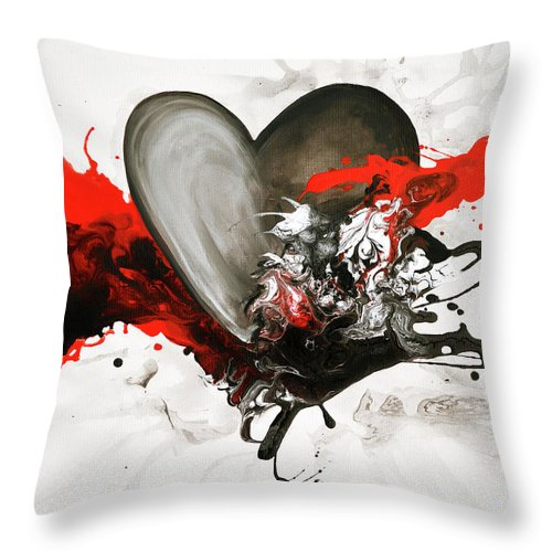 With Every Heartbeat - Throw Pillow