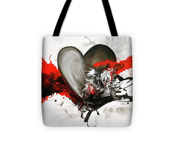 With Every Heartbeat - Tote Bag