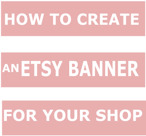 How to create a banner for your Etsy shop in Inkscape