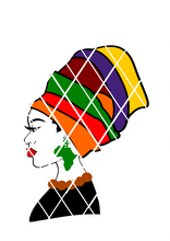 Black Woman in headwrap svg, PNG file,DXF file, Afro svg,Ayesa