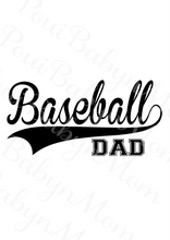 Baseball Dad svg