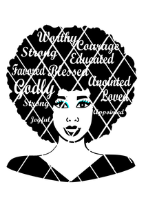 Carol Afro Girls,Afro hair svg, Words in Hair