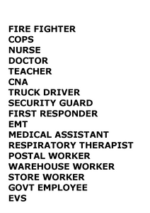 Essential worker svg, doctor,nurse,emt,911,