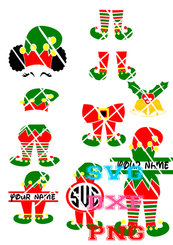 Elf bundle svg for Inkscape group