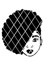 Hilda Svg, Pony puff svg,Afro girl puffs