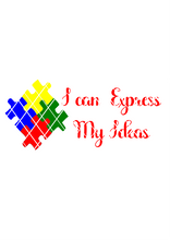 I can Express Myself SVG, Autism Awareness SVG