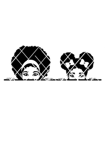 Peeking Elsa and Taiana SVG,PNG , DXF files,peekaboo