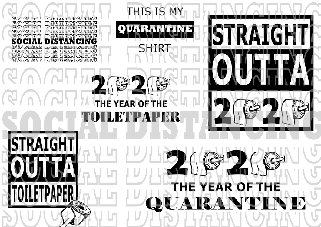quarantine svg bundle