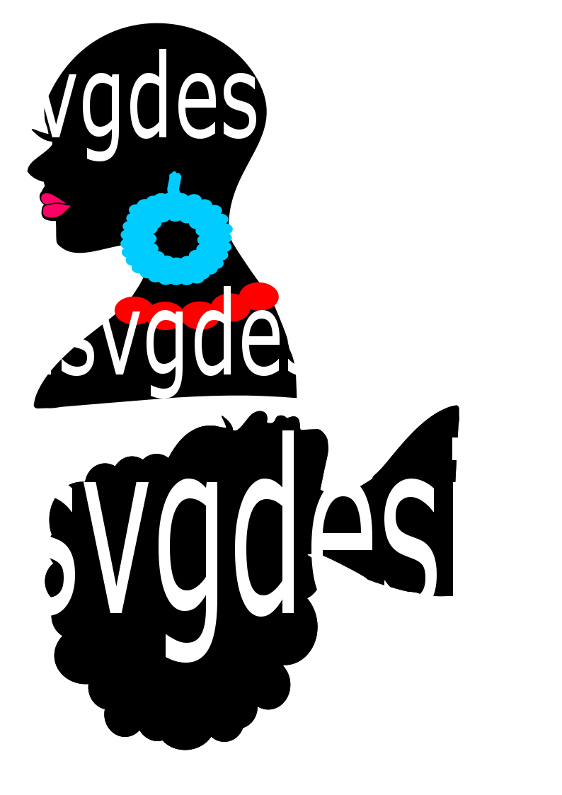 Lady head Silhouette svg ,Silhouette svg, Emily, Rosa, Ayesa, Angisa svg for Diva Wreath
