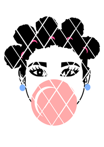Bantu Knots svg, Afro Puffs SVG,DXF ,PNG files,