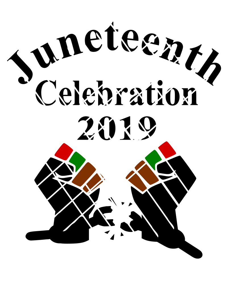 Juneteenth celebration 2019 svg png