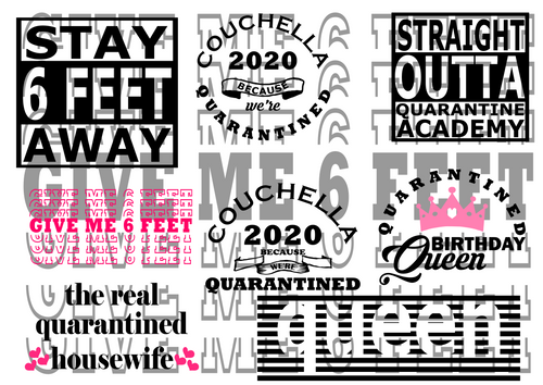 Stay Away Bundle,Couchella 2020 svg, png